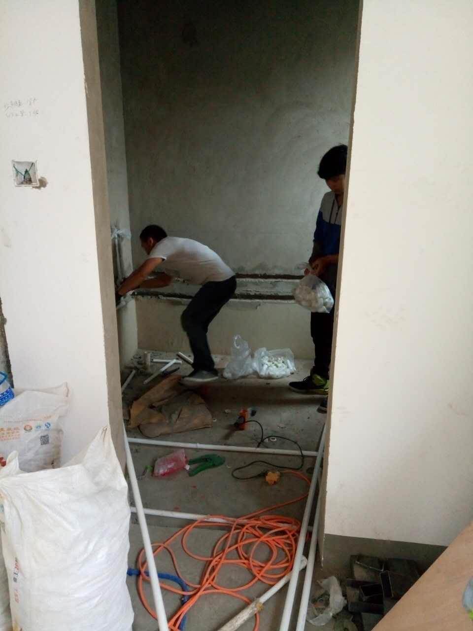 云南如家装饰水电阶段