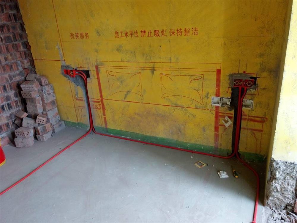 重庆帝艺佳装饰水电阶段