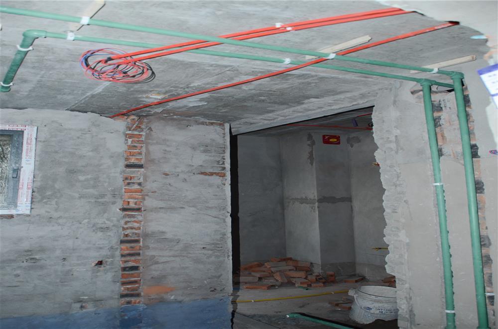 维享家装饰水电阶段
