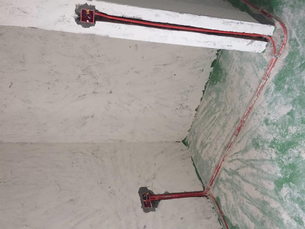 重庆图家装饰水电阶段