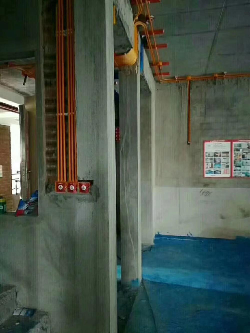 美的家装饰水电阶段