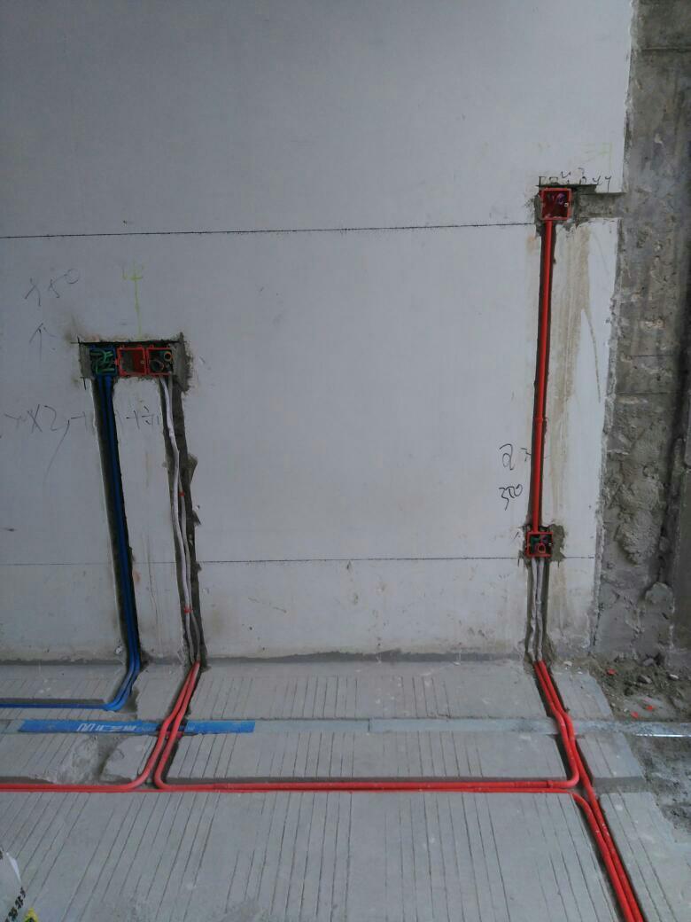 武汉尚可可装饰水电阶段
