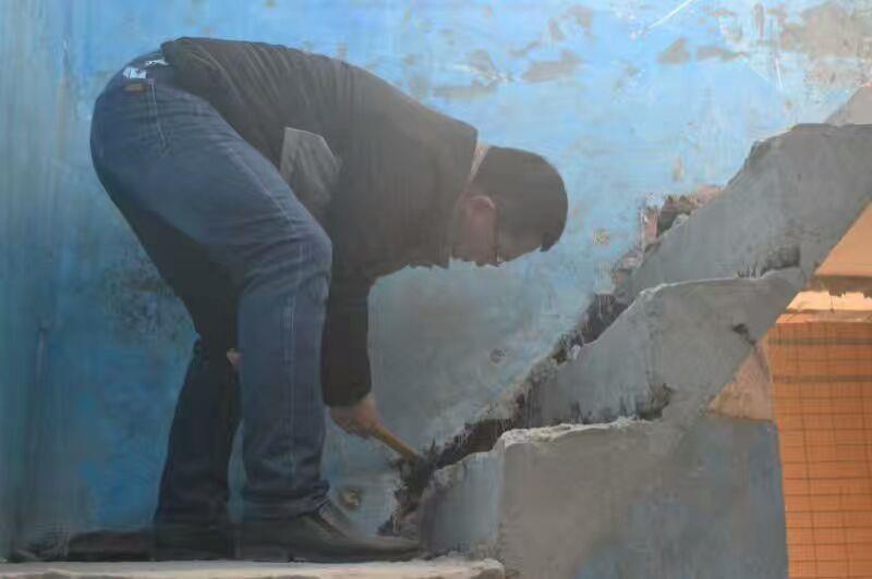 武汉丰立装饰泥瓦阶段