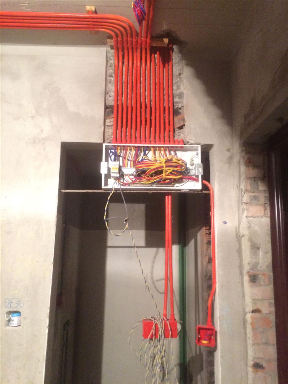 重庆米悦装饰水电阶段