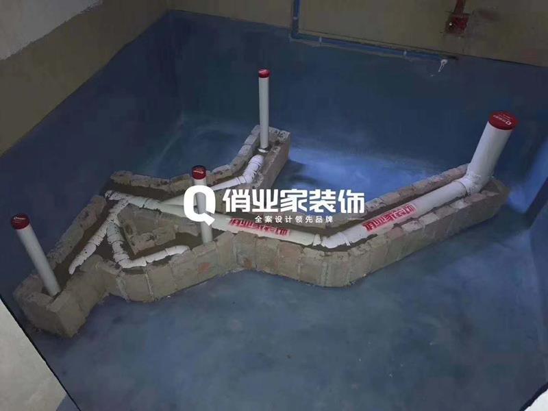 俏业家互联网定制装修水电阶段