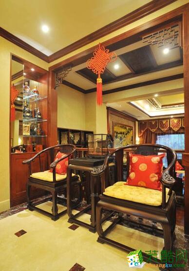 中式风格跃层住宅