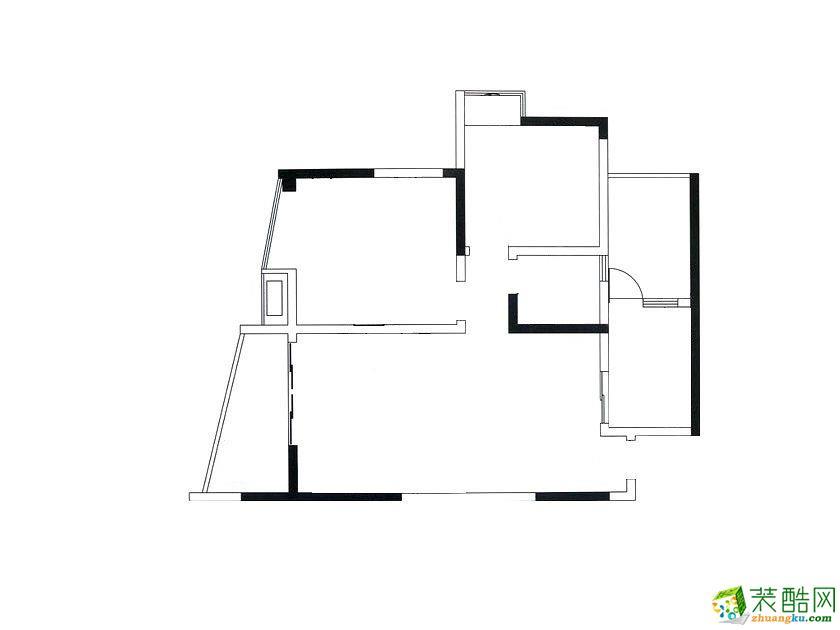 海富花園三居120㎡現代簡約--屬于自己的簡單愛