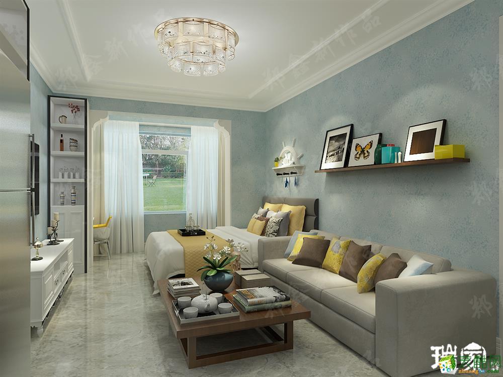 【泰莱16区】50㎡ 一室一厅一卫 现代