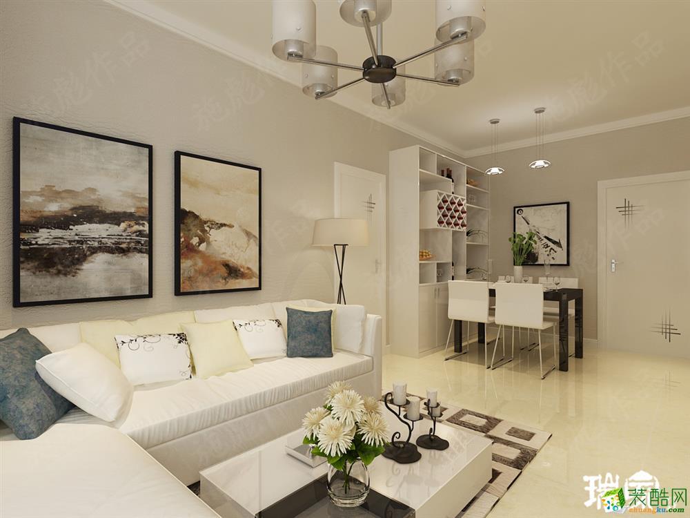 【龙之梦畅园】63㎡ 一室一厅一卫 现代