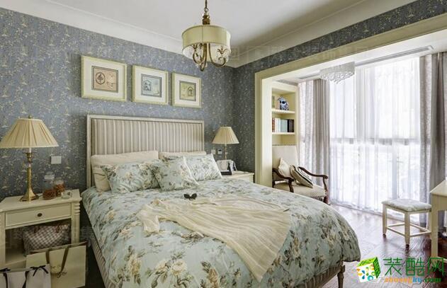 臻上装饰-美式两室装修设计样板房