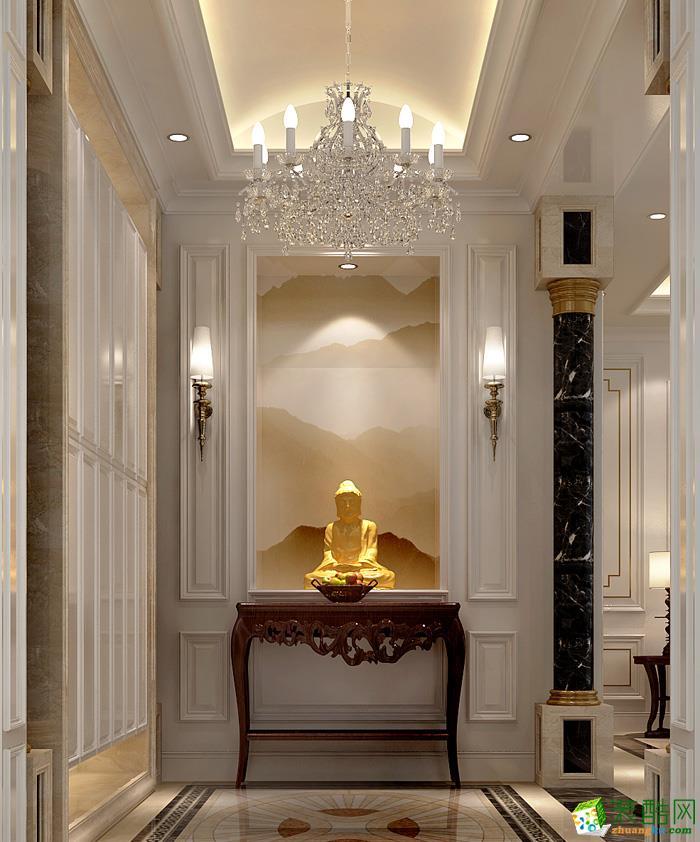 空间类型:欧式风格 四室两厅两卫 房屋面积:280 装修方式:全包 工程造价:29万 本案采用现代结合现代简约欧式风格设计、完整地体现出业主对品质 生活 典雅生活的高品位追求,完全展现出了业主视生活为艺术的人生态度 为提高生活 品味,在设计中,大部分的石材及墙纸材质的应用使得真个空间大气温馨