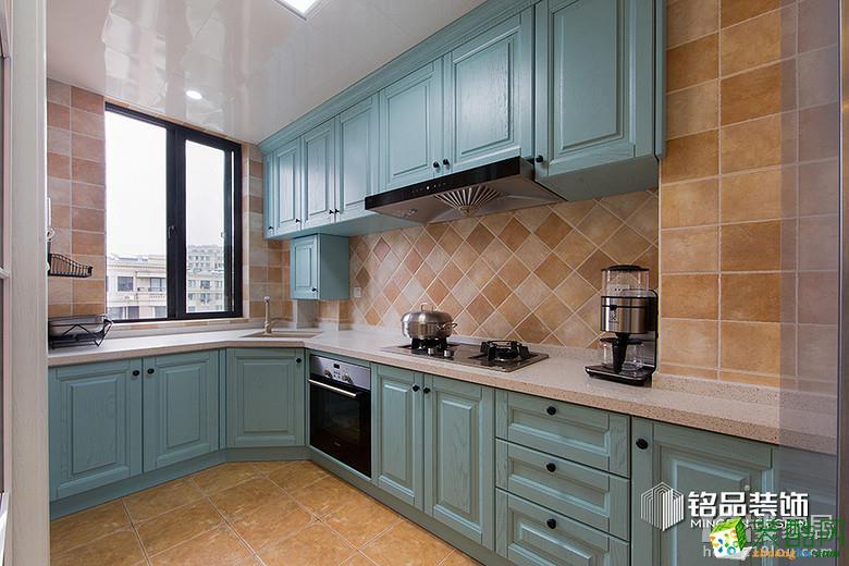 厨房[精装完美]   丁桥玺之湾130方小美风格赏鉴