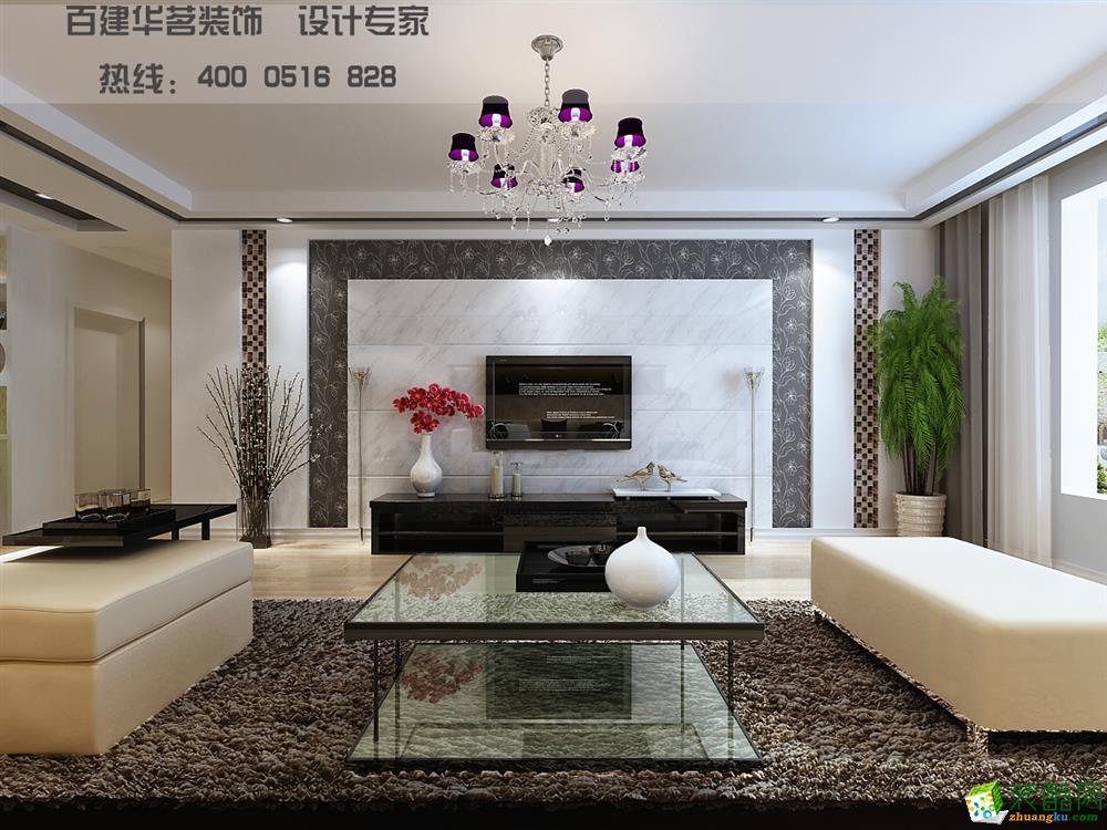 山语世家复式楼现代时尚装修风格