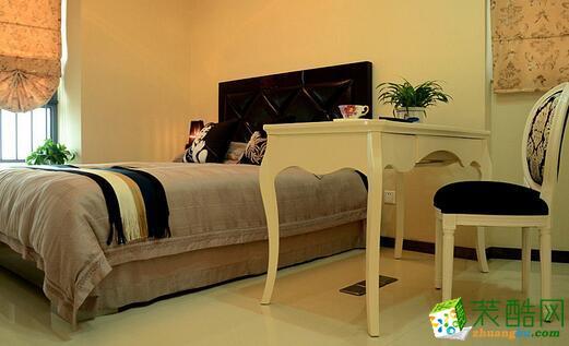 【三力信装饰】78平简欧装修设计,舒服和谐