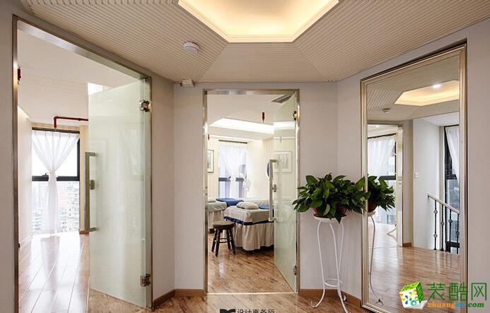 >> 100平美容院装修设计效果图-北欧风格