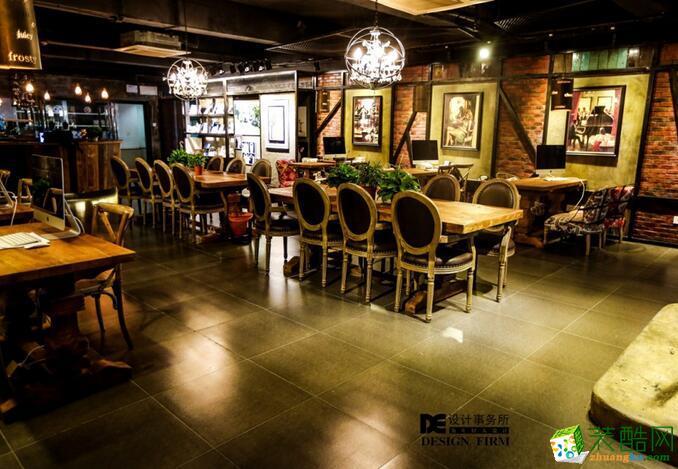 重庆DE装饰1024婚纱摄影店面,loft风设计