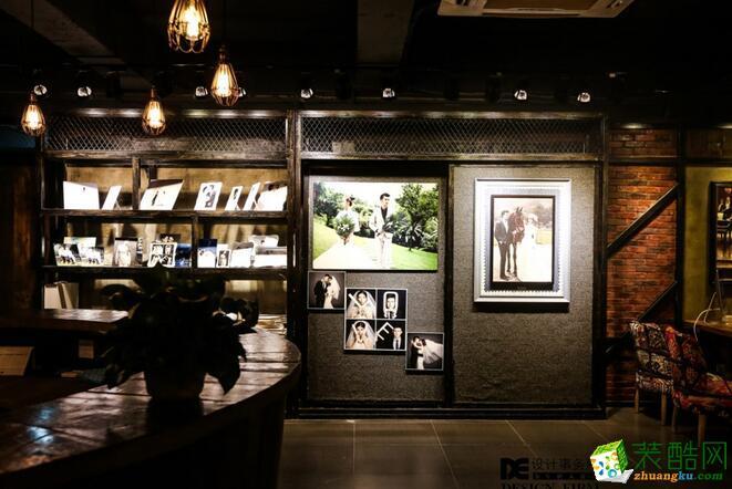 前台 重庆de装饰1024婚纱摄影店面,loft风设计图片