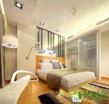 蓝巨人50平米单身公寓现代简约风格效果图