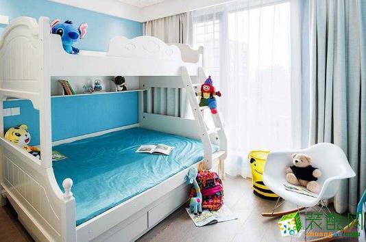 蓝巨人现代风格豪华装修样板房