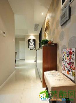 蓝巨人装饰90平米简约风格温馨品质三居室装修案例