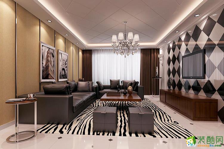 金泊装饰-混搭风格 大都会 160平米装修效果图
