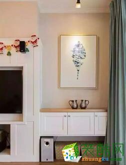 天津都市家园137平米装修案例