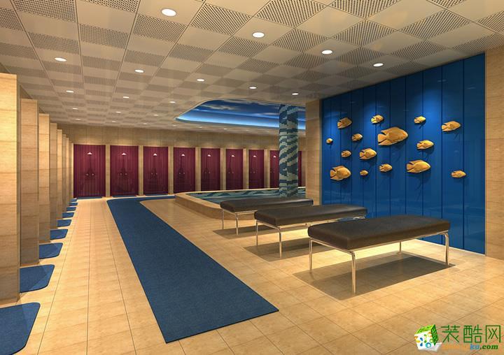 元素空间装饰-简约风格 活动室装修案例图