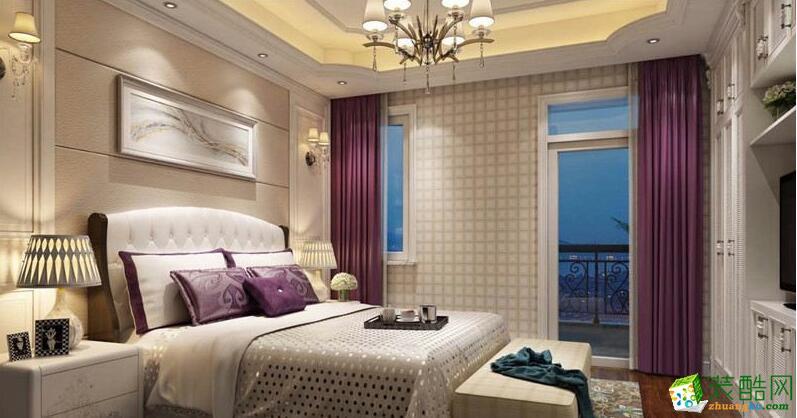 美式风格400方案例--居众装饰