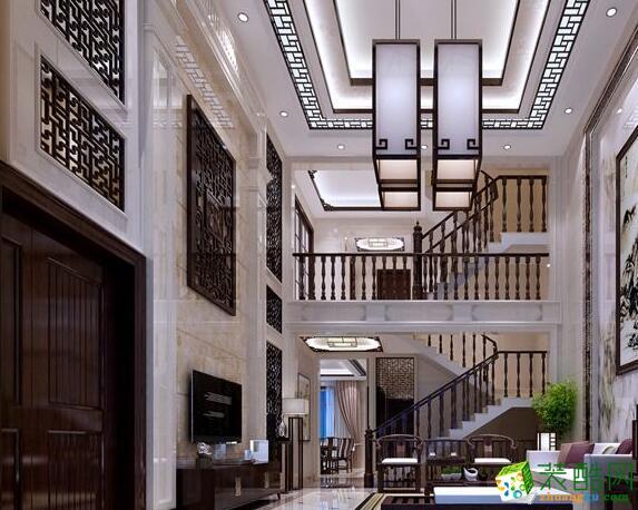 新中式风格案例--居众装饰