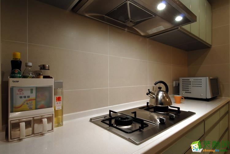 鸿信建筑装饰-现代简约风格 120平米装修案例图