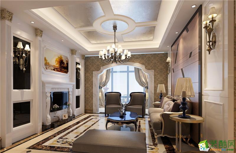 木松装饰150平欧式风格