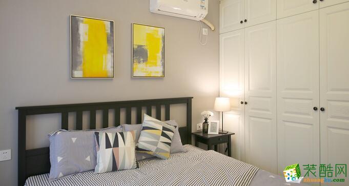 重庆橙子装饰-63平两室现代时尚装修效果图
