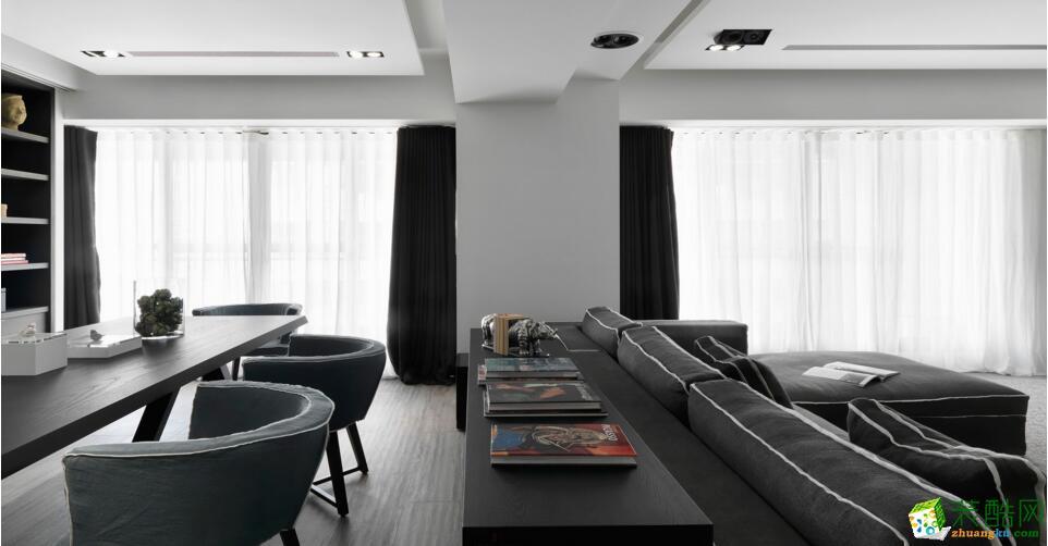柏丽乐邦装饰-现代简约风格三居室装修效果图