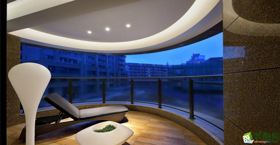 柏丽乐邦装饰-140平米中式风格装修案例图