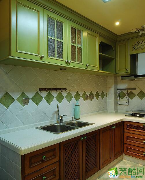 十二分装饰四室样板房-绿色房屋打造清新一屋