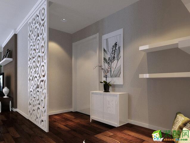 美尚美家装饰-两室简约装修样板房