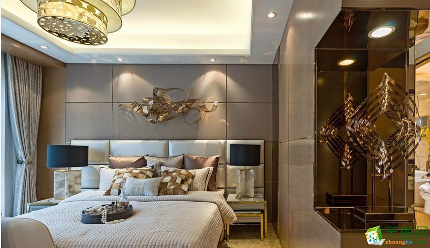 客厅  美尚美家装饰-120平三室两厅装修设计效果图