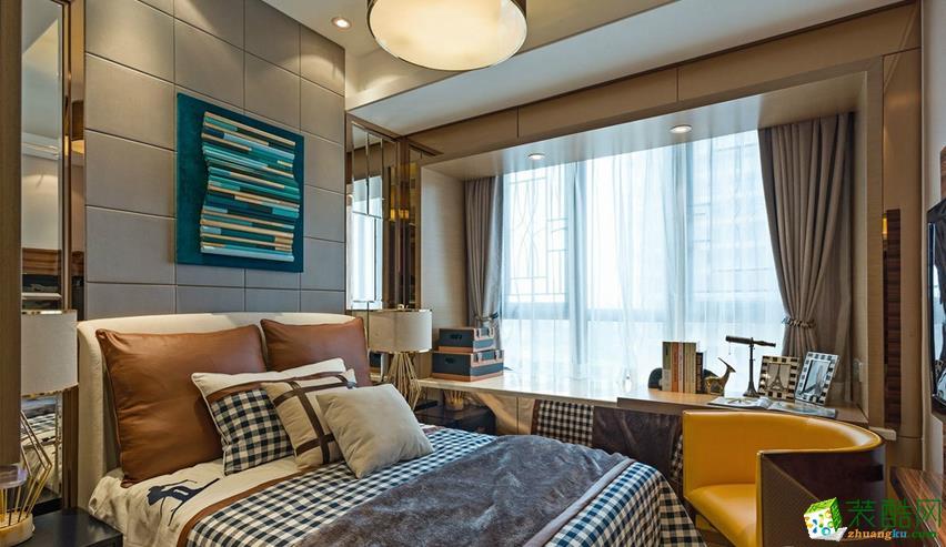 卧室  美尚美家装饰-120平三室两厅装修设计效果图