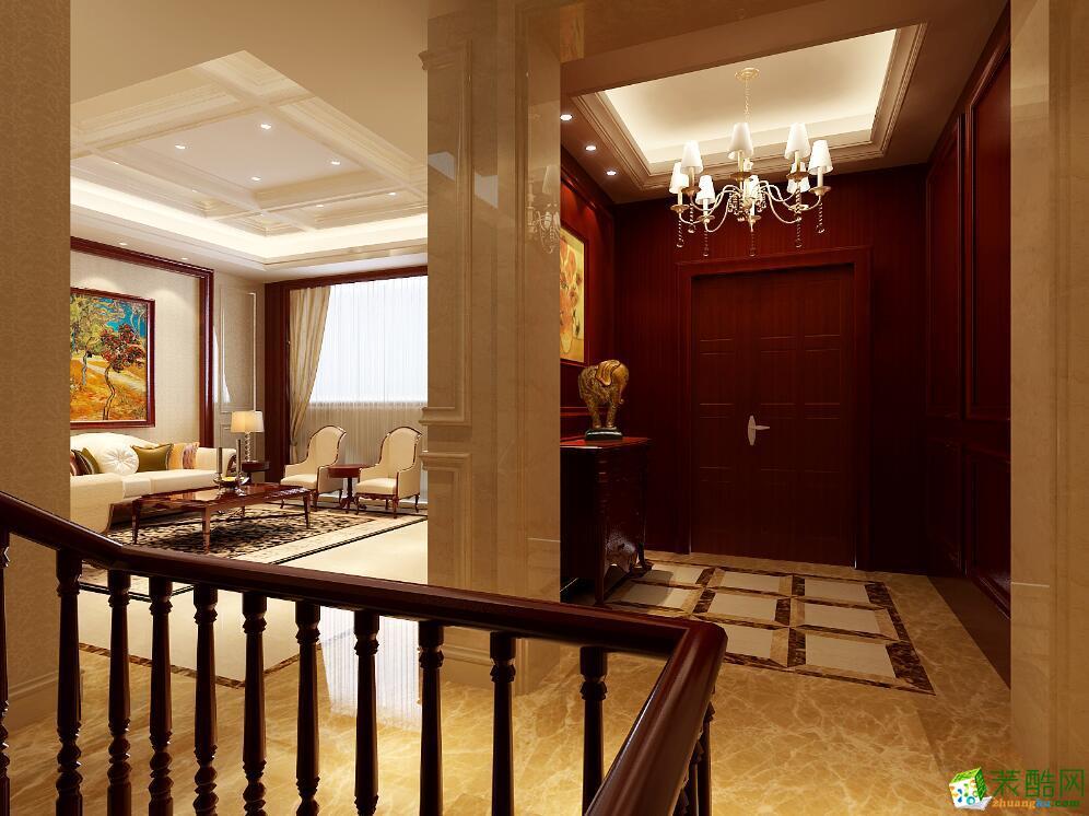 >> 中式风格134平米装修效果图-尚美家装饰