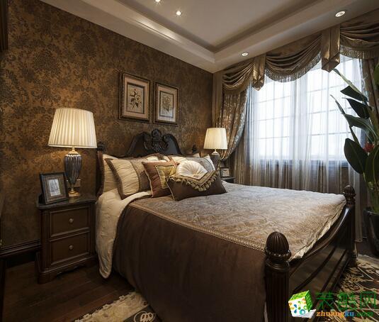 卧室 重庆格美装饰样板房古典别墅装修效果图