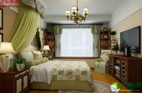 重庆港宏百年装饰样板房-湖时代天街168平