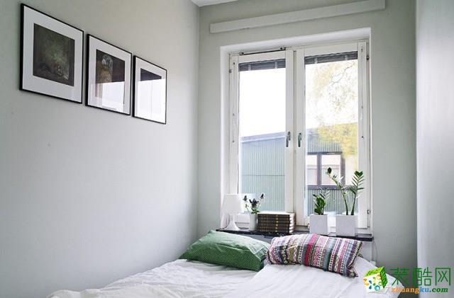 卧室  文艺范儿的公寓