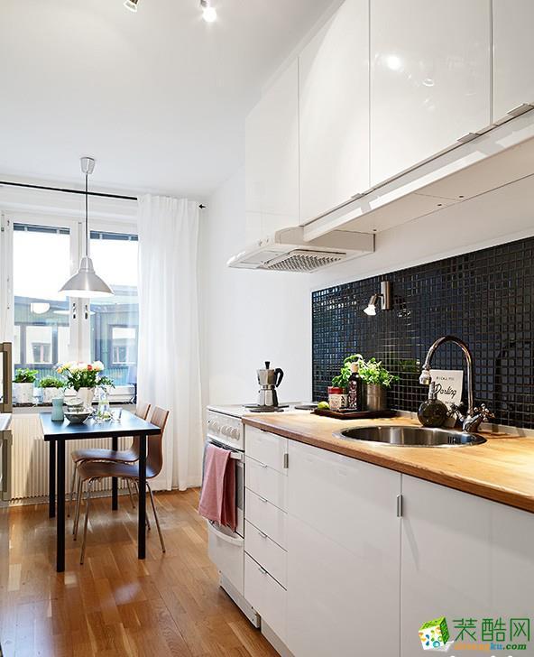 厨房  文艺范儿的公寓
