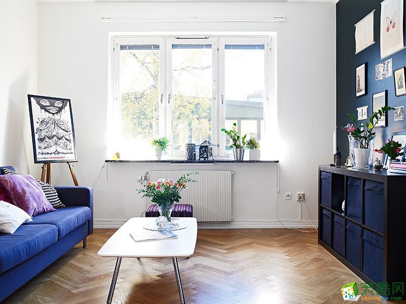 客厅  文艺范儿的公寓