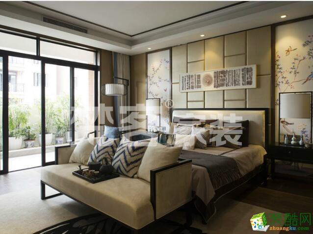 200平中式风格|别墅装修效果图