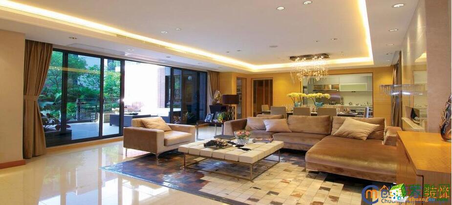 成都创美家装饰-三居室148平米装修案例图