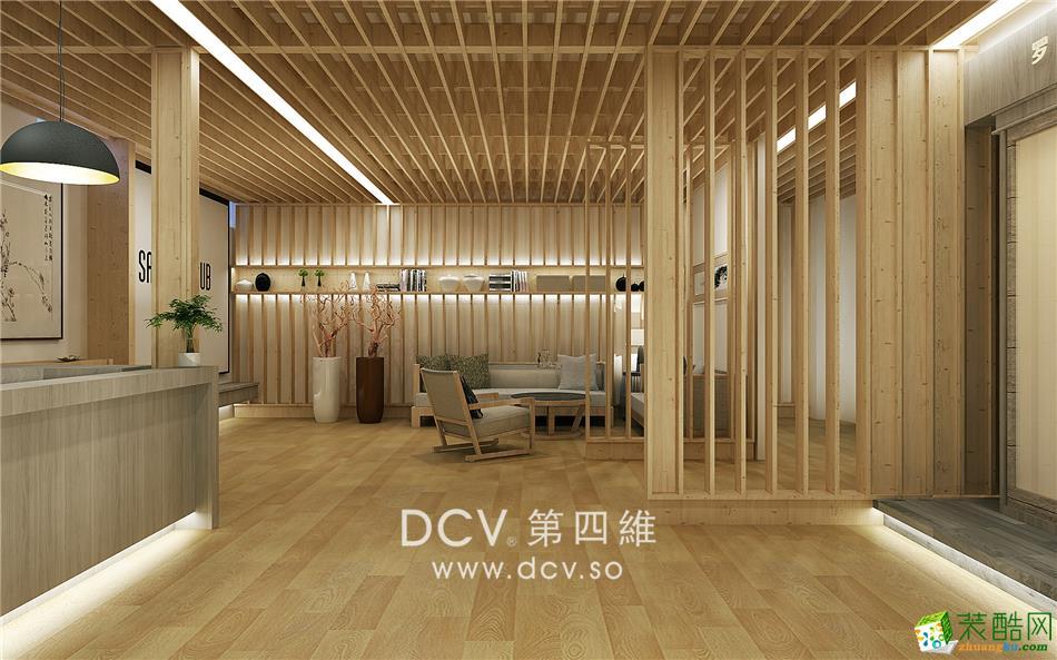 >> 西安企业展示展厅设计-扬子养生光波房(旗舰店)