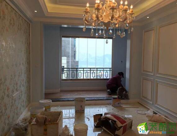 重庆欧也装饰-两居室欧式装修样板房