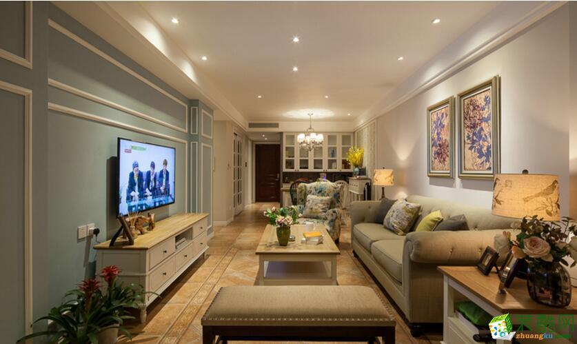 成都品格至尚装饰-鹭湖宫两居室装修案例