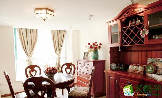 乾维天下居装饰跃层美式样板房 ,大气时尚